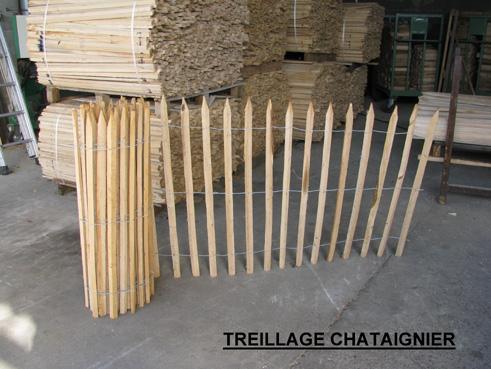 Tonnellerie villard for Cloture de separation jardin